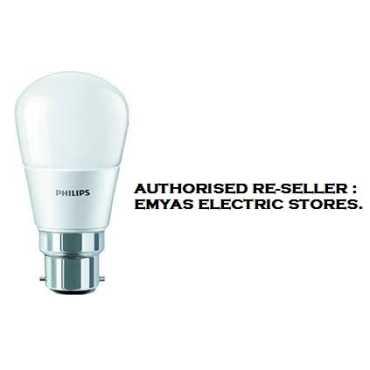 Philips 2.7 W B22 250L LED Bulb (White) - White