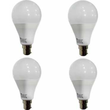 Syska 12 W B22 PAG LED Bulb (White, Pack of 4) - White