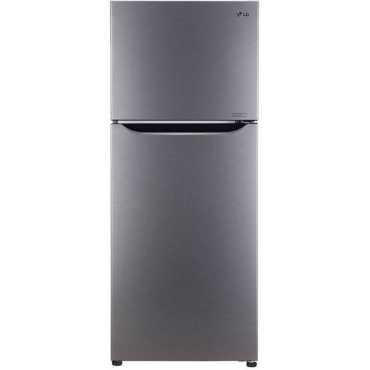 LG GL-P292SDSR 260 L 2 Star Inverter Frost Free Double Door Refrigerator - Steel