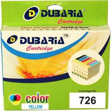 Dubaria 726 Yellow Ink Catridge