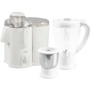 Havells Endura 2 Jar 500W Juicer Mixer Grinder - Beige | White