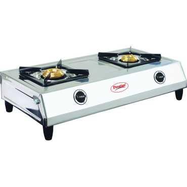 Prestige Agni Gas Cooktop (2 Burner) - Silver | Steel