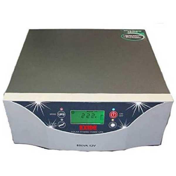 Exide 1100VA 12V Hybrid Solar Sine Wave Inverter