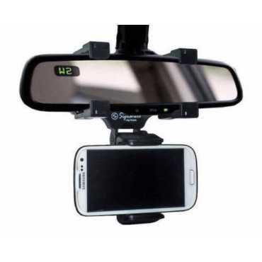 Signature VMD-4 Universal Rear Mirror Car Mobile Holder - Black