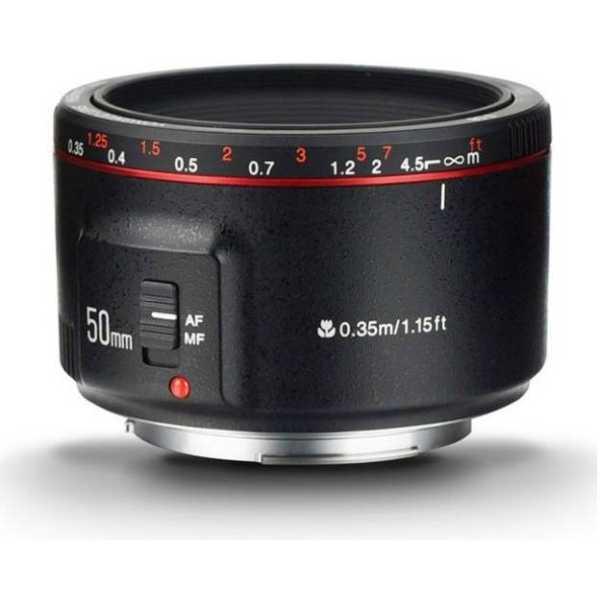 YONGNUO YN 50 mm F1.8 II Lens