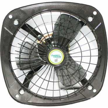 Happy Home Fresh Air 3 Blade Exhaust Fan - Grey
