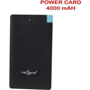 Callmate PBPC-4000 4000mAh Power Bank - White   Pink   Blue