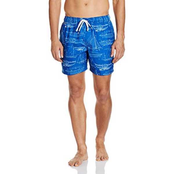 Marks & Spencer Men's Synthetic Shorts (0000003475263_7807M_Medium_Cobalt)