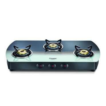Prestige Premia Schott Manual Gas Cooktop 3 Burners