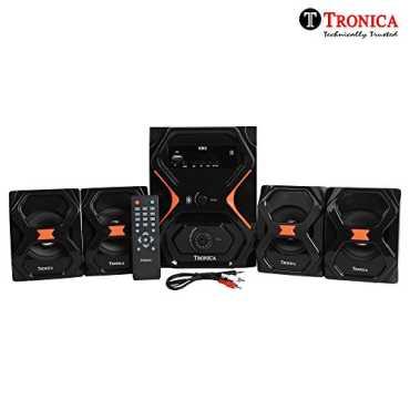 Tronica IT-6363 4.1 Channel Multimedia Speaker - Black
