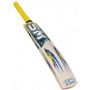 SM Thrust Kashmir Willow Cricket Bat (Short Handle)