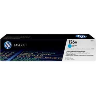 HP 126A Cyan LaserJet Toner Cartridge - Blue