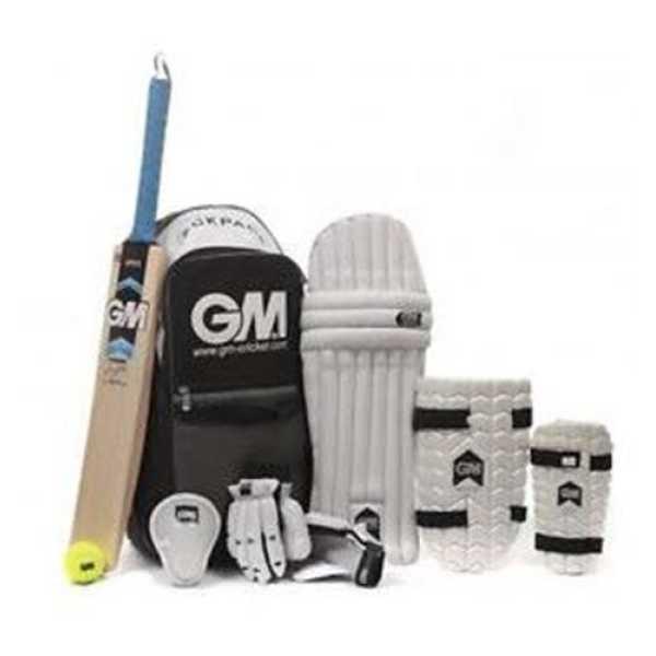 GM Cricket Kit with Helmet (Junior)