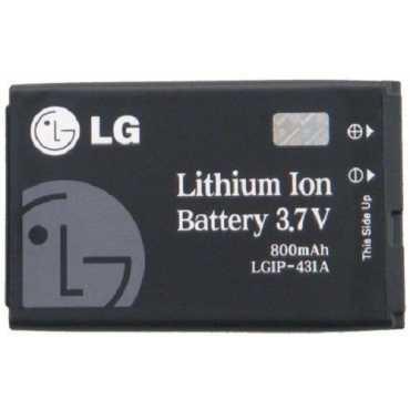 LG IP-431A 800mAh Battery - Black