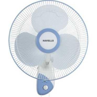 Havells Swanky 3 Blade Wall Fan - Blue