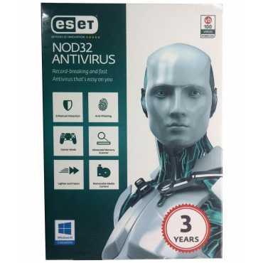 Eset NOD32 Antivirus Version 9 1 PC 3 Year