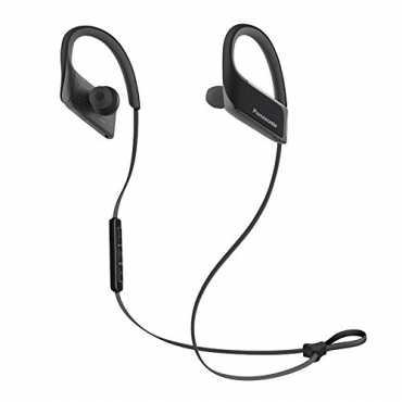 Panasonic RP-BTS30 3D Flex Sport Clip In-Ear Headset - Black