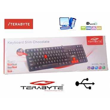 Terabyte TB-08 USB MultiMedia Keyboard - Brown | Black