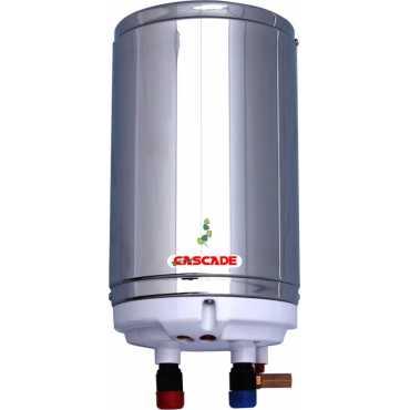 Cascade Silver Shower 1 Litre (4.5 Kw) Instant Water Geyser - Steel