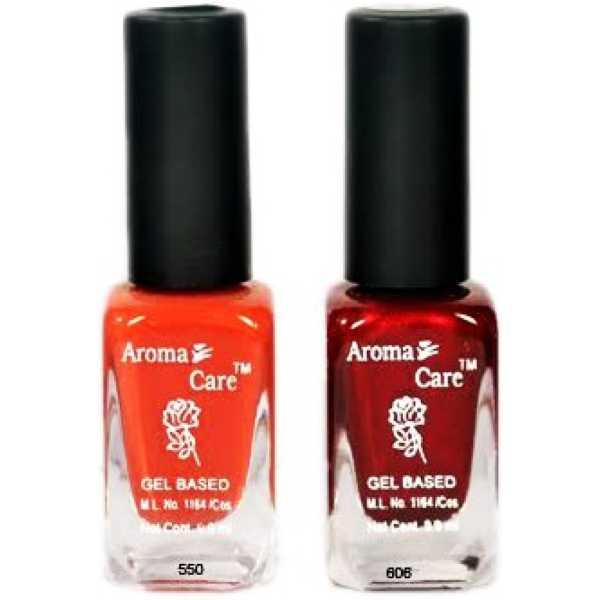 Aroma Care Black Cap 40 Nail Polish (Multicolor) - Black