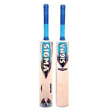 Sigma Signature English Willow Full Size Cricket Bat Short Handle