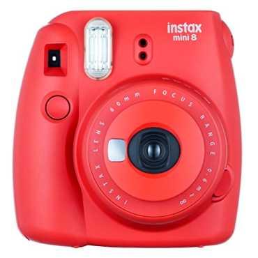 Fujifilm Instax Mini 8 Instant Camera - White | Yellow | Blue | Pink | Black