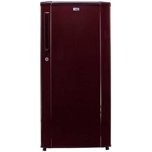 Haier HRD-1813SR-R 181L Single Door Refrigerator Burgundy Red