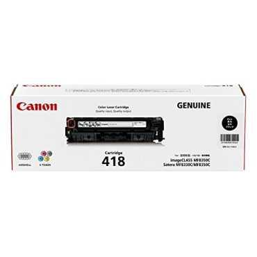 Canon 418 BK Toner Catridge - Black