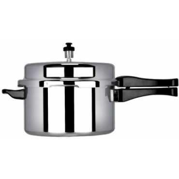 Sumeet SAPC5 Aluminium 5 L Pressure Cooker (Outer Lid) - White