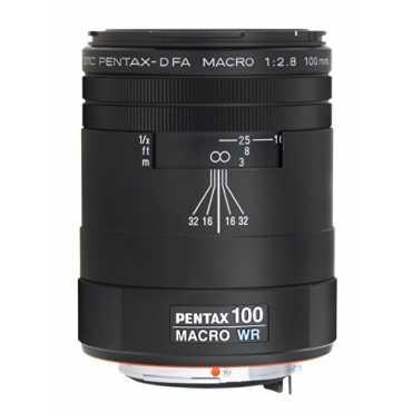 Pentax K-Mount SMC FA 100mm F/2.8 Macro Prime Lens (For Pentax) - Black