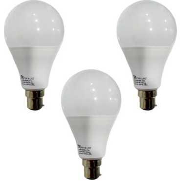 Syska 12 W B22 PAG LED Bulb (White, Pack of 3) - White