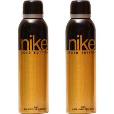Nike Gold Edition Deo Combo Set of 2