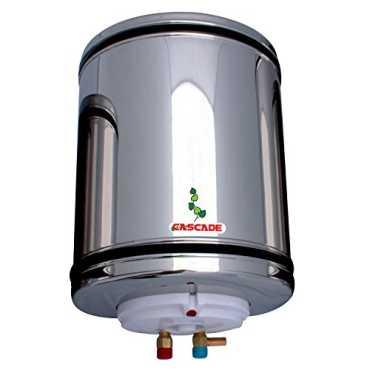 Cascade Silver Shower 25 Litres Storage Water Geyser - Silver | Steel