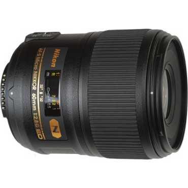 Nikon AF-S Micro NIKKOR 60mm f/2.8G ED Lens - Black