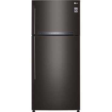 LG GR-H772HXHU 603 L 3 Star Inverter Frost Free Double Door Refrigerator - Black