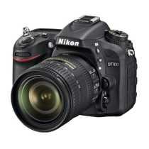 Nikon D7100 SLR (AF-S 16-85mm VR Kit Lens) DSLR - Black