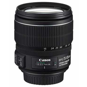 Canon EF-S15-85mm f/3.5-5.6 IS USM Lens - Black