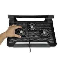 CoolerMaster Notepal U3 Plus Cooling Pad - Black