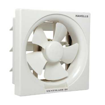 Havells VentilAir DX 5 Blade (250mm) Exhaust Fan - White