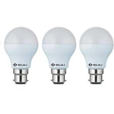 Bajaj Corona 3W Standard B22 300L LED Bulb (White,Pack of 3) - White