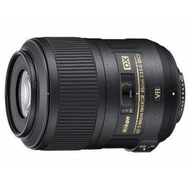 Nikon AF-S Nikkor 85mm f/3.5G ED VR Micro DX Lens - Black