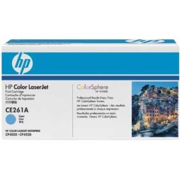 HP 648A Cyan LaserJet Toner Cartridge - Blue