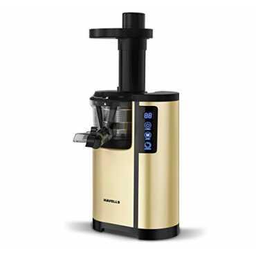 Havells Nutrisense 150W Cold Press Slow Juicer - Gold