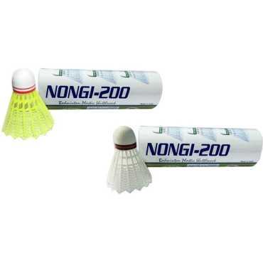 Nongi A1 Plastic Shuttle Cocks Pack Of 10