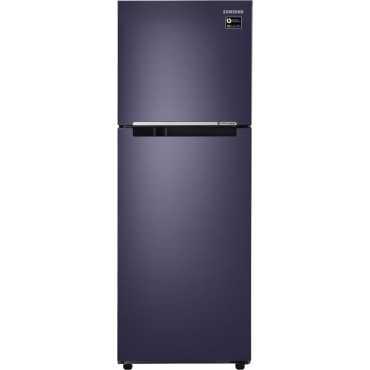 Samsung RT28M3044UT/HL 253 L 4 Star Inverter Frost Free Double Door Refrigerator (Pebble Blue)
