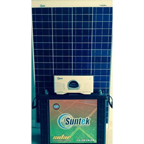 Suntek Energy 1KVA Metal Solar PCU - Multicolor