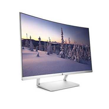 HP (Z4N75AA) 27 Inch Curved LED Monitor - White