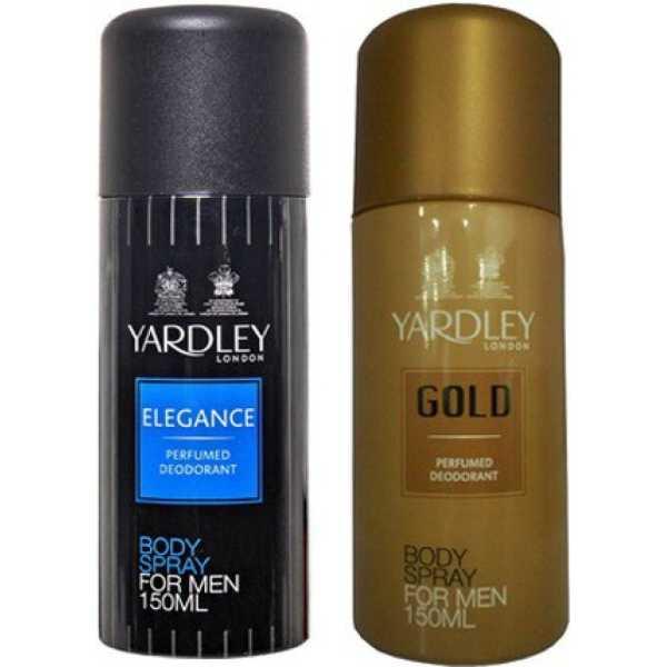Yardley Elegance and Gold Combo Set of 2