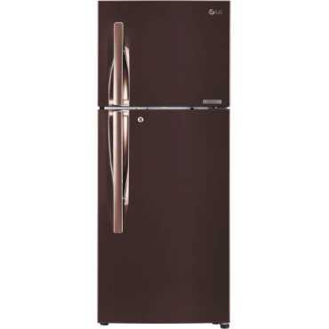 LG GL-T292RASN.AASZEBN 260 L 4 Star Inverter Frost Free Double Door Refrigerator - Steel