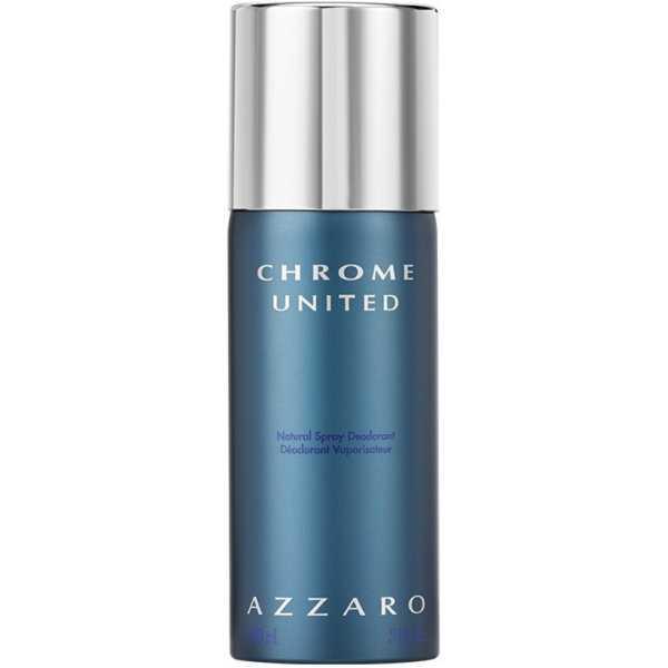 Azzaro Chrome United Deodorant (For Boys, Men) - Silver